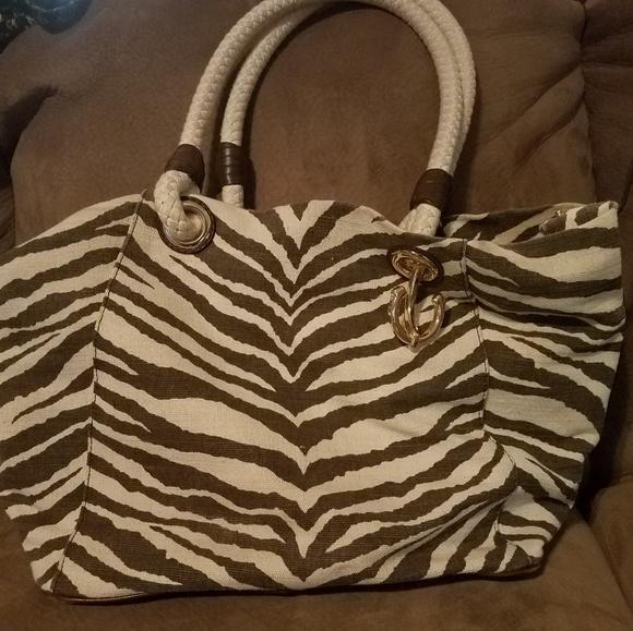 michael kors zebra bag